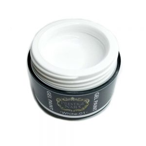 gel paint white 01, article 190 001