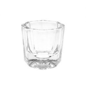 small glass dappen dish